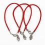 3 Evil Eye Hamsa red string bracelets